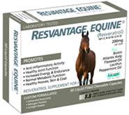Visit www.ResvantageEquine.com